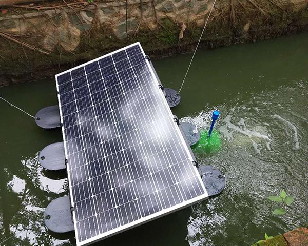 太阳能曝气机