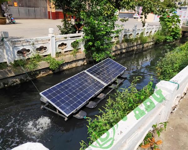 太阳能推流式曝气机